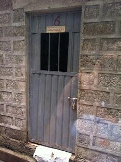 Prison cell in Addis